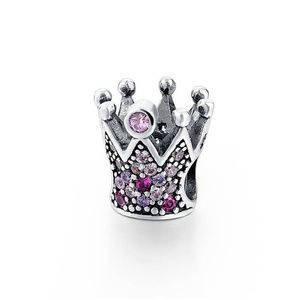 STERLING SILVER CROWN CHARM QUEEN CHARM